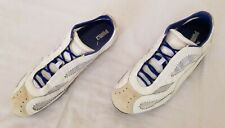 Mens Size 12 White Puma Leather Spikeless Track Shoes 342138 10 preowned