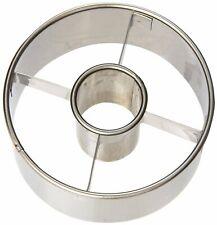 Ateco Stainless Steel Doughnut Cutter, 3 ½ Inch Diameter