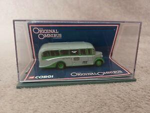 Corgi Original Omnibus 1:76 42604 Bedford OB Coach Grey Green