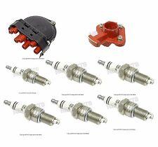For BMW E30 E32 E34 Ignition Kit Distributor Cap Rotor Spark Plugs Bremi Bosch