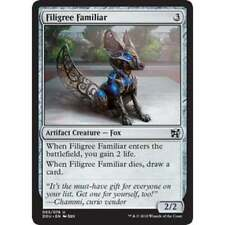 4x FILIGREE FAMILIAR - Artifact - Duel Deck MTG - NM - Magic The Gathering
