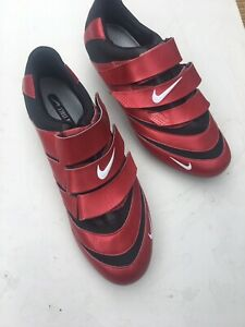 Nike cycling shoes Size 9 UK carbon Sole Red New Never Used