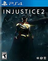 Injustice 2 (Sony PlayStation 4, 2017) BRAND NEW / Region Free