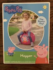 """Peppa Pig 15"""" Pink Bounce Hopper Ball New Toy Indoor Outdoor"""