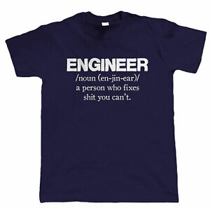 Massive Stock Clearance, Engineer, Mens Funny T Shirt