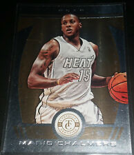 Mario Chalmers 2013-14 Totally Certified TOTALLY GOLD Insert Card (#'d 11/25)