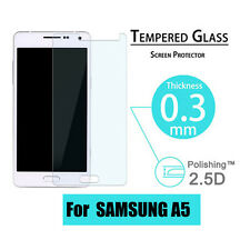 100% Premium Real Tempered Glass Screen Protector Flim For Samsung Galaxy A5
