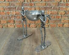 Aluminium 2 Skeleton with 1 Bowl Facing Same Direction