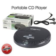 CD Player with Earphones Music Player Walkman Discman Portable Disc
