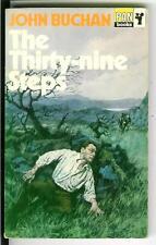 THE THIRTY-NINE STEPS by Buchan, rare British Pan Book crime pulp vintage pb