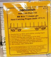 Cambrian C22. BR BAA 77.5t Steel Carrier Wagon Kit.(00)
