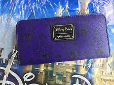 NWT Loungefly Harry Potter Icon Zipper Wallet Wristlet Wand Hat Hogwarts Broom