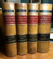 Leading Cases In The Law Of Real Property; By George Sharswood 1883, 4 Vols