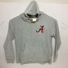 Alabama Crimson Tide Womens Comfy Terry Aspen Hoodie Pullover Sweatshirt Size XL