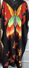 Ladies Women's New Summer Cool Butterfly Print Long kaftan dress 12***to 24 Fit