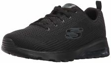 Skechers Women's Skech Air Extreme Awaken Fashion Sneaker Black 6 M US