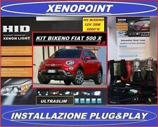 KIT XENON H4 BIXENO FIAT 500 X 6000°K 35W 3.0 ULTRASLIM CAN BUS XENO BIXENON LED