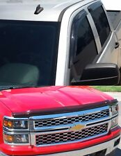 Tape on Vent Visors & Bug Shield Combo Pack 2005 - 2009 Chevy Equinox