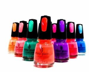 China Glaze Nail Polish Lacquer New