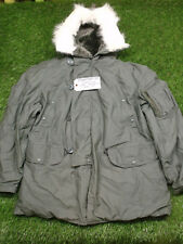 NEW US Army Military Extreme Cold Weather N-3B Snorkel Parka Jacket Coat M Torn