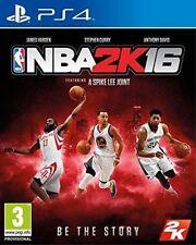 Ps4 Sony PlayStation 4 Game NBA 2k16 English Boxed