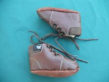 BABY PAWS softsoles lace up LEATHER Baby shoes Size 1 (3-6mths)