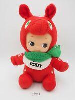 "Kewpie X Rody Red A2611 Sk Japan Plush 7"" Stuffed Toy Doll Rose O'Neill"