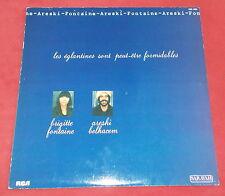 BRIGITTE FONTAINE ET ARESKI LP ORIG FR LES EGLANTINES SONT PEUT ETRE FORMIDABLES