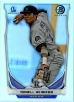 2014 Bowman Chrome Prospects Refractors Baseball Card Pick