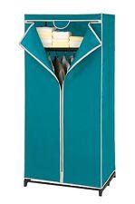Kleiderschrank Breeze mit Ablage, Garderobe, Wäscheschrank, Petrol, 160x75 cm