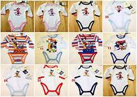 Disney Baby Boys Girls Bodysuit Jumpsuit Baby grows romper newborn - 23 months