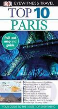 Eyewitness Top 10 Travel Guide: Eyewitness Travel Guide - Paris    with map