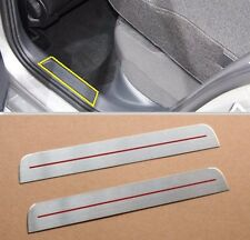 2PCS Rear Door sill scuff plate Insert VW GTI 7 VII MK7 5door 2014 2015