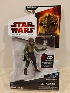 STAR WARS LEGACY COLLECTION BUILD A DROID CANTINA ALIEN HRCHEK KAL FAS RARE MINT