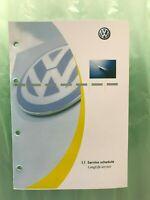 100% GENUINE VW VOLKSWAGEN TRANSPORTER SERVICE HISTORY BOOK NEW