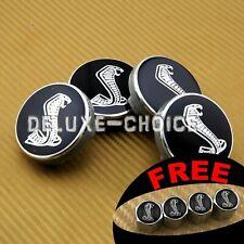 """Set of 4 CENTER CAP HUB RIM for COBRA LOGO FOR MUSTANG ALLOY WHEEL 54mm 2.12"""""""