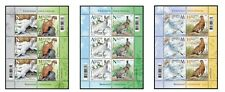 Belarus 2020 Seasonal variations wild animals: hare, weasel, partridge 3 Sheets