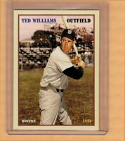 TED WILLIAMS '42 BOSTON RED SOX LAST .400 HITTER, SUPERIOR LIMITED EDITION