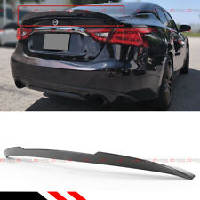 FOR 16-2020 NISSAN MAXIMA 8TH HIGHKICK DUCKBILL CARBON FIBER TRUNK SPOILER WING