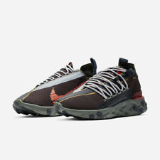 New Nike React WR ISPA Velvet Brown AR8555-200 Mens Off White Sean Wotherspoon