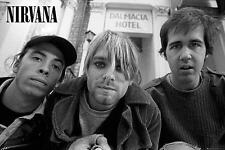 "Nirvana Poster ""Kurt Cobain Dave Grohl Krist Novoselic"""