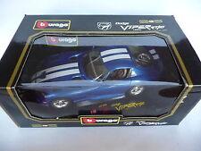 Bburago 1:18 Dodge Viper RT/10 Electric Blue 1993 BB3065