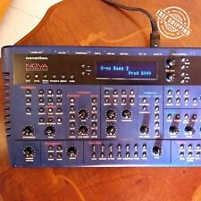 Novation NOVA Polyphonic Analog Modeling Synth Synthesizer
