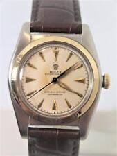 Vintage S/Steel & 14k ROLEX Bubble Back Automatic Watch Ref 5011 c.1949 SERVICED