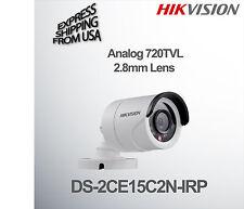Hikvision Bullet Color Security Camera 720TVL 2.8mm Lens Analog DS-2CE15C2N-IRP