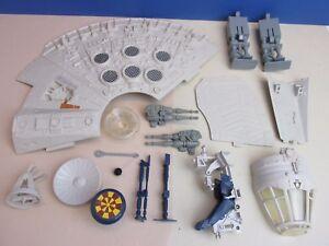 VINTAGE spare parts COMPLETE UR MILLENNIUM FALCON star wars ORIGINAL millenium