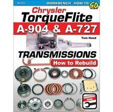 Chrysler Torqueflite A904 & A727 Transmissions: How to Rebuild Manual Book SA394