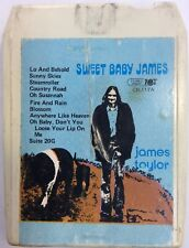 James Taylor Sweet Baby James 8 Track Tape ElectronicsRecycled.com
