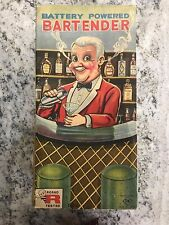 Vintage Rosko Battery Powered Bartender Toy Original Box Japan Collectible