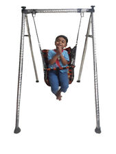 Smart Folding Swing 2-in-1 Baby Indoor & Outdoor Pure Steel Swing Set